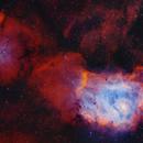 Lagoon and NGC6559,                                Roberto Colombari