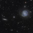 Espejos de Agua (M100 and NGC 4312),                                Reza Hakimi