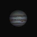 Jupiter 10052017-22:04 MAK 127/1500, Bar 2.8x-BW 4300, Bin 2x2,                                Christoph Mittmasser