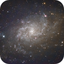 Triangulum-pinwheel Galaxy (M33) in LRGB,                                Jose Carballada
