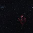 NGC 3372, C91, NGC3293 - Untracked,                                Rohan