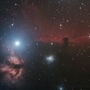 IC434, NGC2024, IC432, IC435,                                antares47110815