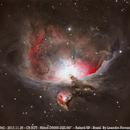 Orion nebula 2013 reprocessed,                                Leandro Fornaziero