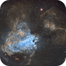 M17 Omega nebula,                                Juan Lozano