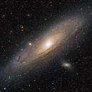 The Andromeda Galaxy (Broadband/Narrowband Blend),                                Alex Roberts