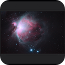 Orion Nebula,                                Mike