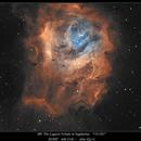 M8 The Lagoon Nebula WIP 7/5/2017,                                rigel123
