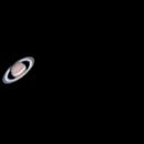 Saturn thru an AstroMaster 130,                                Charles Terrell