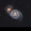 M51 - Whirlpool Galaxy,                                Jamie