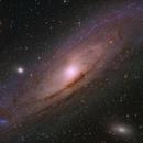 Andromeda Galaxy (M31),                                Ara