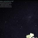 Shaula, Lesath e M7,                                heriton