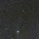 2-Panel Mosaic: IC 348 to NGC 1333 Nebulosity Region,                                Jan Curtis