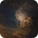 IC405 Flaming Star Nebula,                                Stan Smith