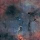 Ic1396-nébuleuse de la trompe d'éléphant,                                astromat89