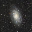 M33 (8.2 hours),                                Jim Lafferty