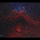Centre of the Soul Nebula IC1848,                                Göran Nilsson