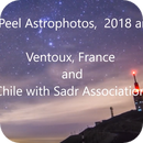 slideshow in video - 2019 and 2018  my Astrophotos,                                Arnaud Peel