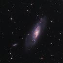 M106 the splendid galaxy,                                Marc Agostini