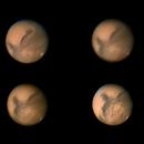 Dernières images de Mars en Novembre 2020,                                Georges