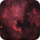 Pelican and North American Nebulae (IC5070 and NGC 7000) - Joke test of a Telecompressor 0.67x  +  TS65Q ,                                Agostino Lamanna