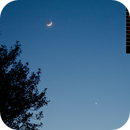 Venus Mars and Moon Conjunction,                                Stephen Charnock