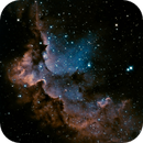 Wizard Nebula in  Ha and OIII,                                keving