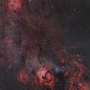 Cepheus-Cygnus 32 panel megamosaic.,                                Olly Penrice