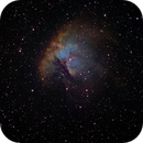 NGC 281 Pacman in HST palette,                                Chuck Manges