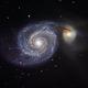 M51, The Whirlpool Galaxy,                                Ruben Barbosa
