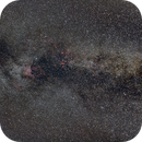 Cygnus wide field (with North California and Pelican nebulae...),                                Cyril NOGER