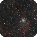 NGC 7129 in OSC with IR950 Mouseover Overlay,                                Alan Brunelle