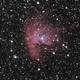 Pacman nebula LRGB,                                Janos Barabas