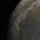 Ridge along Plato and Sinus Iridum near Mare Imbrium,                                Evelyn Decker