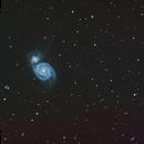 M51 et ses alentours,                                xavier