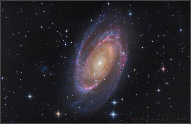M81 L-RGB-Ha,                                sky-watcher (johny)