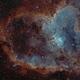 Heart Nebula, Sh2-190,                                Jim Thommes