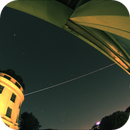ISS passing over Vienna, the second pass on 20219711 from 02:56 to 02:58.,                                nonsens2