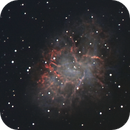 M1 La nébuleuse du Crabe Crab nebula NGC 1952,                                Victor