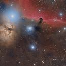 IC 434/B33/Flame  AKA The HorseHead Nebula,                                Paddy Gilliland