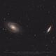 M81 & M82 - First light new DSLR astro-modded,                                Christophe Perroud