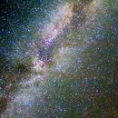 La Via Lattea nel Cigno,                                marcello ferroni