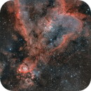 The Heart Nebula in HA & OIII,                                Tristan Campbell