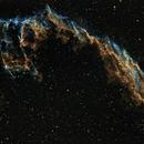 NGC 6992 - NGC 6995 - IC 1340 - Caldwell 33 in SHO,                                Uwe Deutermann