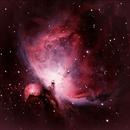 M42 Orion Nebula,                                Eddie Hunnell