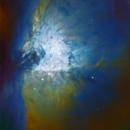 M42 Trapezium HRGB,                                Eric Coles (coles44)