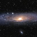 Great Galaxy in Andromeda,                                Dan Watt