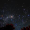 Austral Milky Way of April 1, 2018,                                Ray Caro