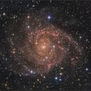 IC 342 The hidden galaxy,                                sky-watcher (johny)