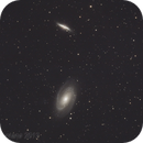 """M81 triplet with APO 130 and Canon 5D. Only 8x600"""" exposure.,                                Luigi Fontana"""