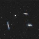 M 65, M66 NGC 3628 Triplet du lion/ Leo triplet,                                sylvain Maspeyre